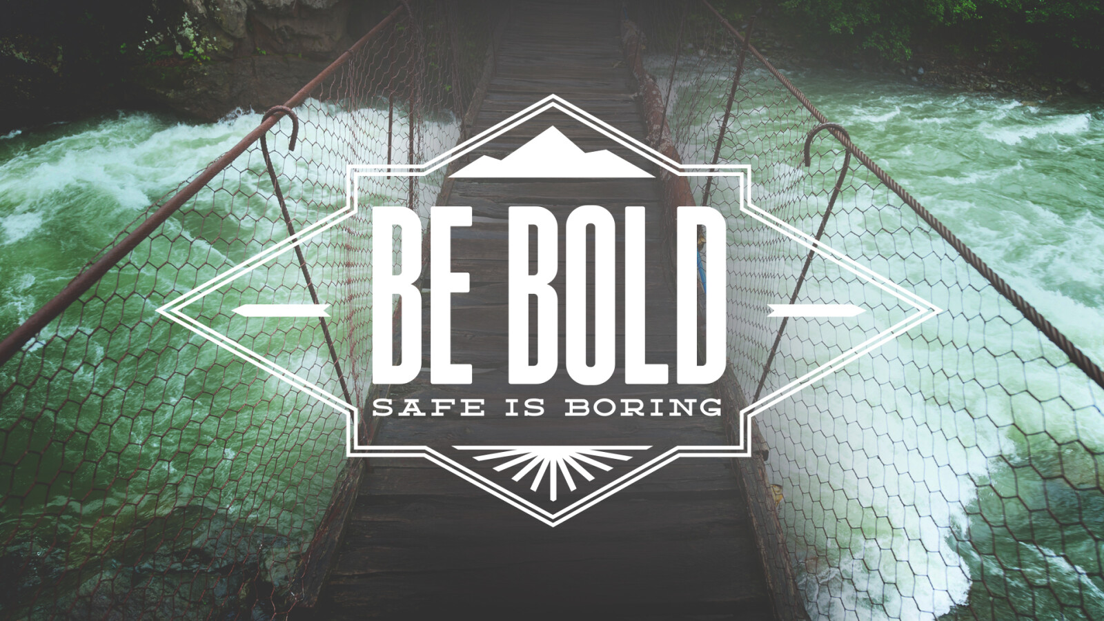 Be Bold: Safe Is Boring