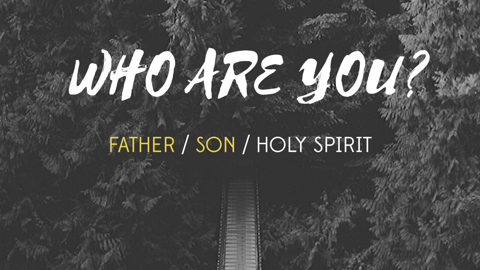 Who Are You? (Father & Son)