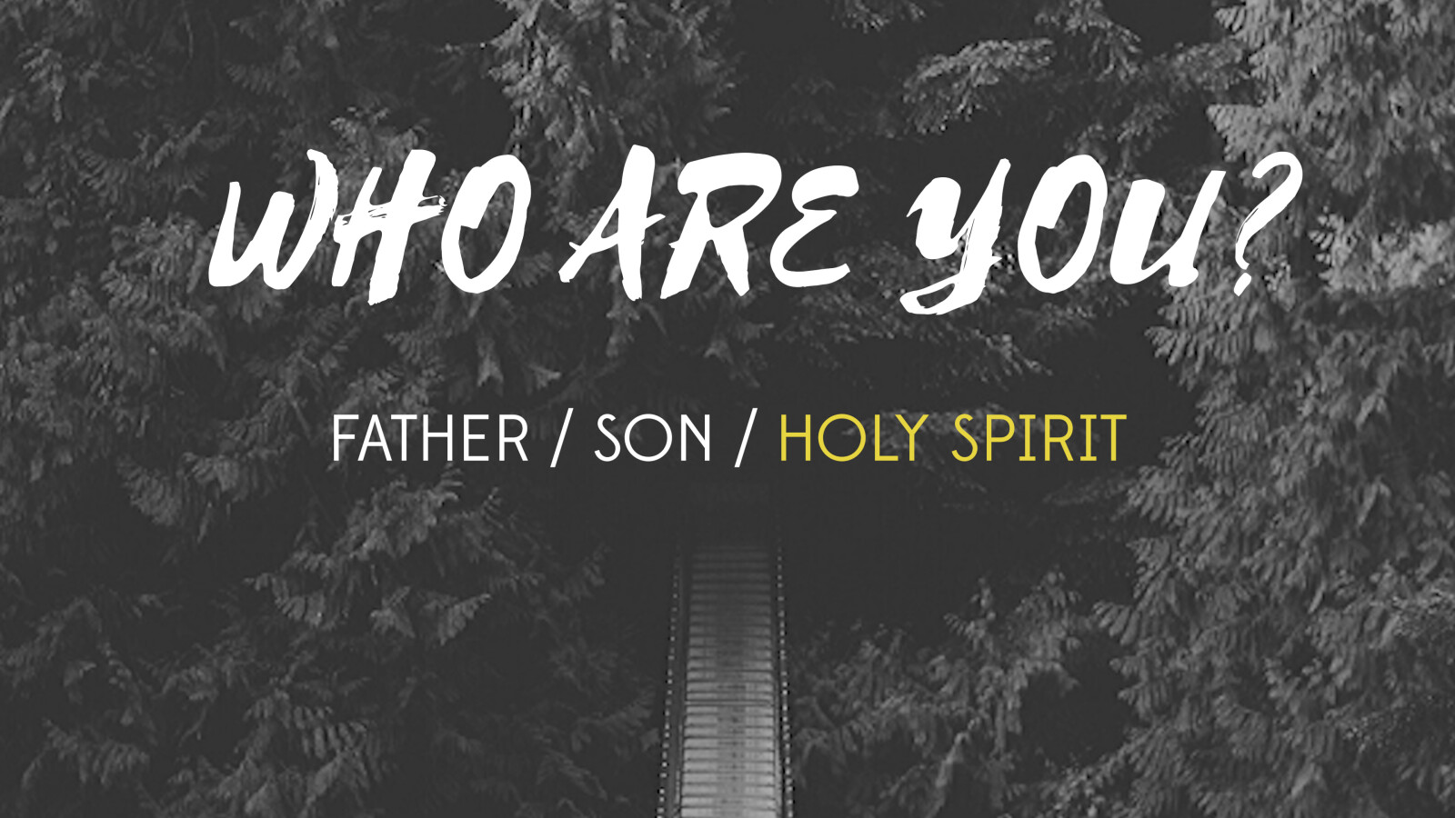 Who Are You? (Holy Spirit)